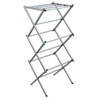 Expandable Accordion Drying Rack