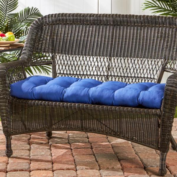 Fashions Indoor//Outdoor Swing//Bench Cushion Sofa Chair Seat Soft Pad Gray