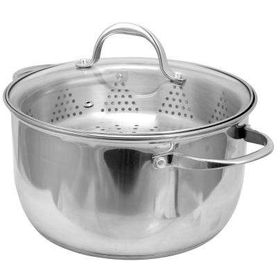 Brenta 6 Qt. Dutch Oven with Steamer Insert and Lid