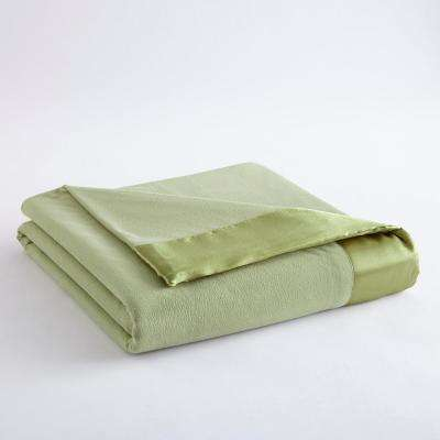 Full Queen Meadow Year Round Polyester Sheet Blanket