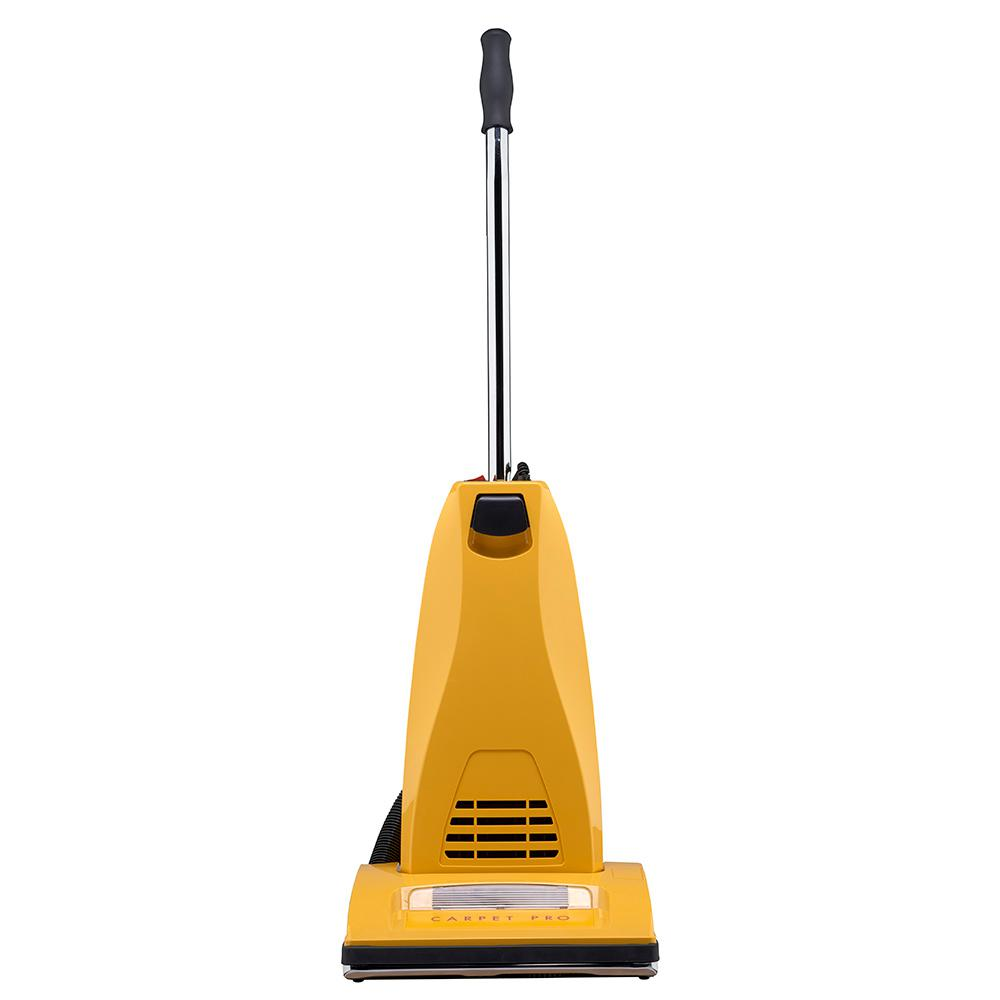 Carpet Pro Upright Vacuum Household in Yellow (No-Tool)