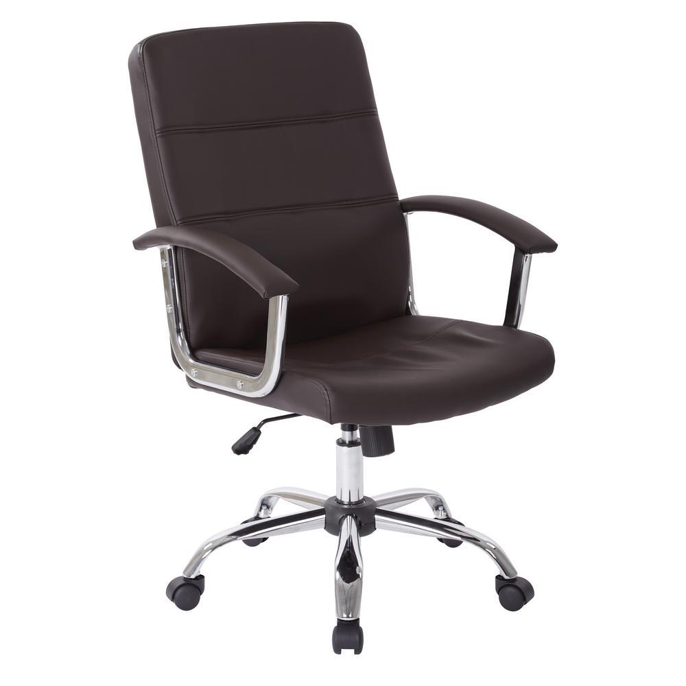Malta Espresso Office Chair
