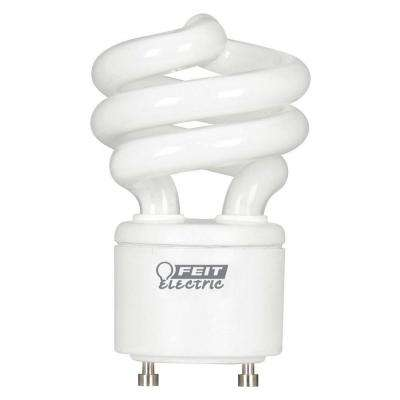 60W Equivalent Daylight (5000K) Spiral GU24 CFL Light Bulb