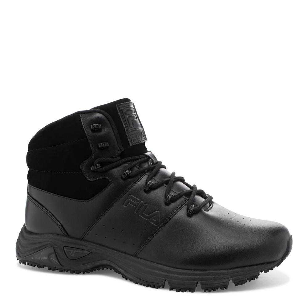 0ce8ce62b630 Fila Memory Breach Men Size 7 Black Synthetic Soft Toe Work Boot ...