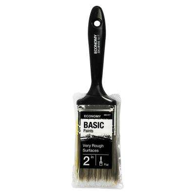 UTILITY 2 in. Flat Cut Utility Paint Brush