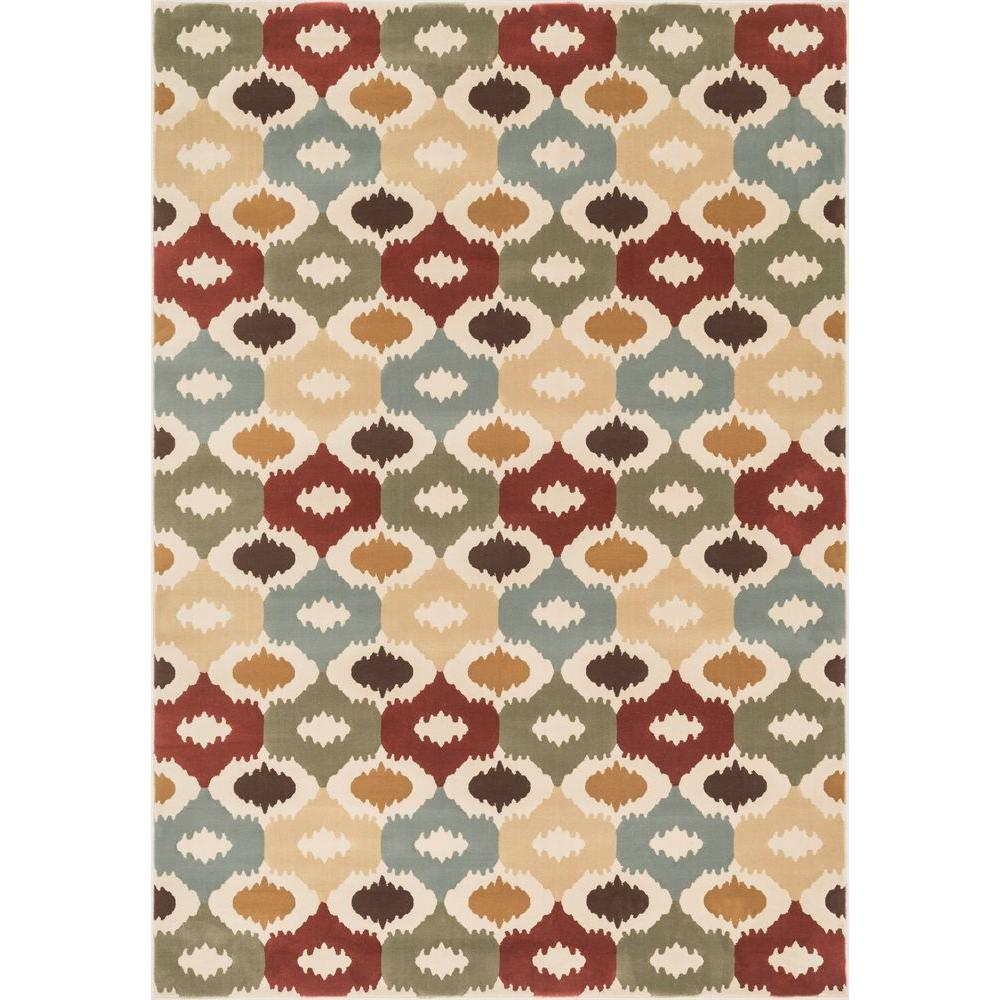 Loloi Rugs Shelton Lifestyle Collection Multi 2 ft. 3 in. x 3 ft. 9 in. Area Rug