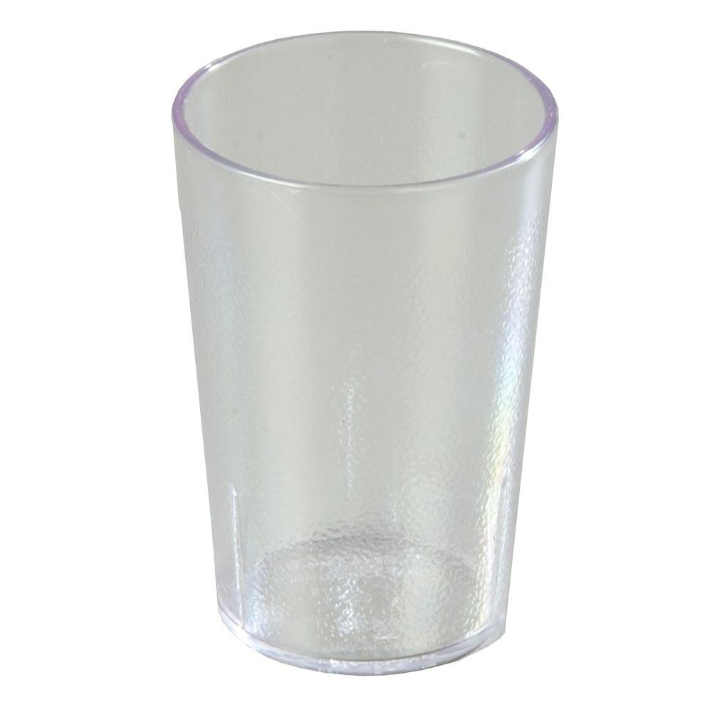 Carlisle 9.5 oz. SAN Plastic Stackable Tumbler in Clear (Case of 24)-DISCONTINUED