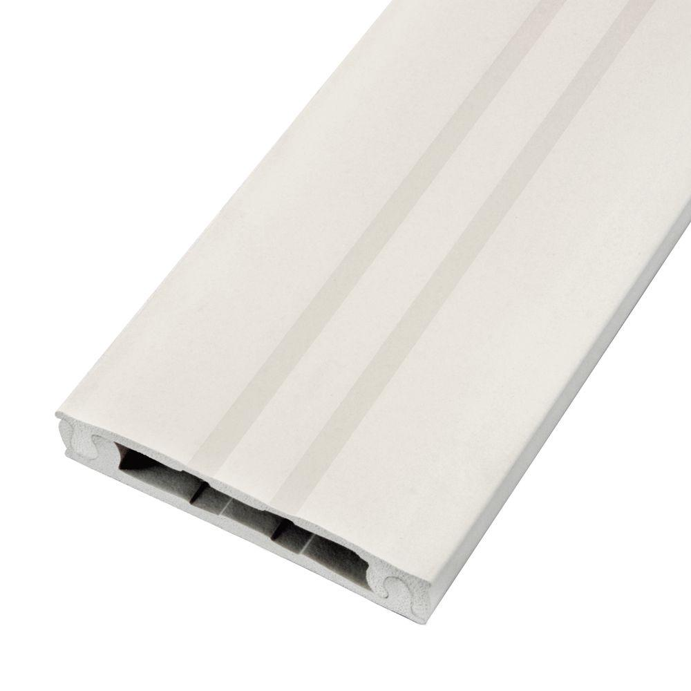Legrand 700 Series 10 ft. Metal Surface Raceway Channel in White ...