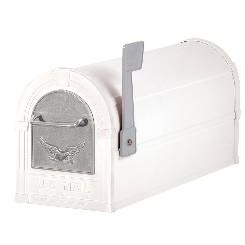 Salsbury Industries 4800 Series Eagle Rural Post-Mount Mailbox