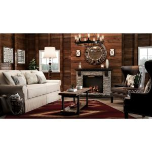 internet 3 home decorators collection moore havana brown wing back accent chair