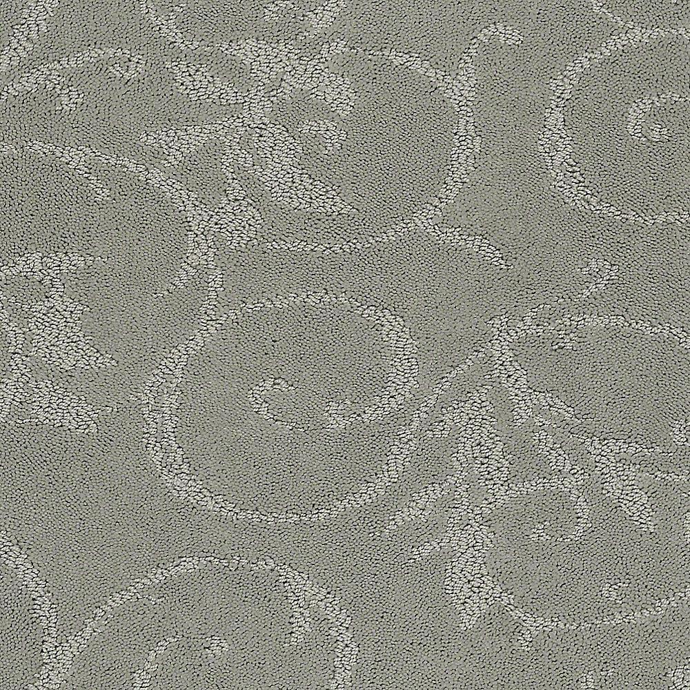 Carpet Sample - Cheriton - Color Evening Mist Pattern 8 in. x 8 in.