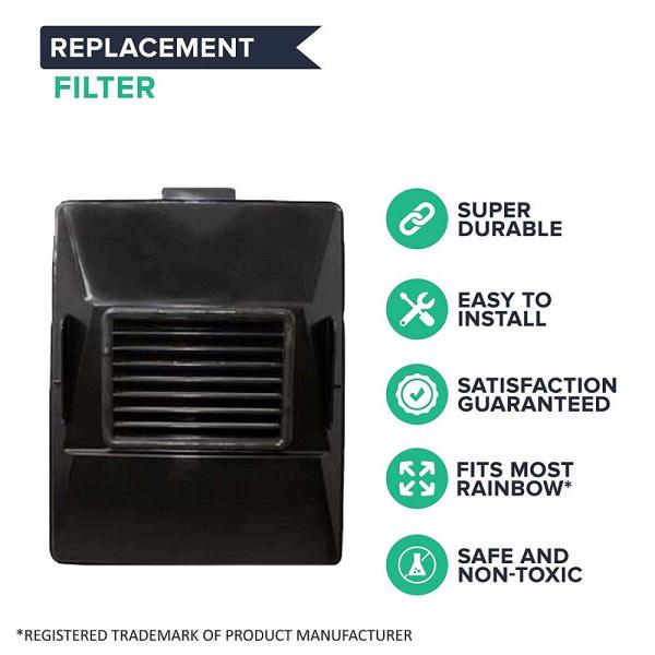 Think Crucial Hepa Style Filter Replacement For Rainbow Rexair E Compatible With Part R10520 R 10520 And R12106b R10520 The Home Depot