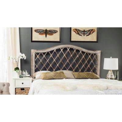 Gabrielle Antique Grey Queen Headboard