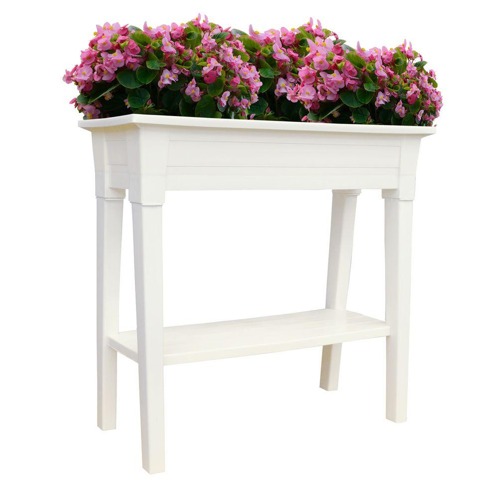 style versailles planter htm planters garden accoya large wooden