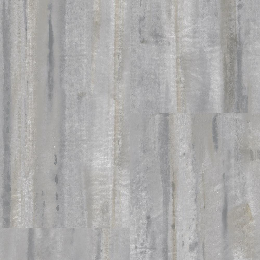 Straiated Stone Grey 12 in. Wide x 24 in. Length Click