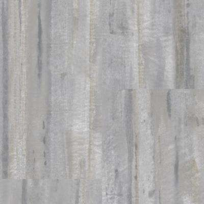 Straiated Stone Grey 12 in. Wide x 24 in. Length Click Floating Vinyl Plank (19.58 sq. ft./case)
