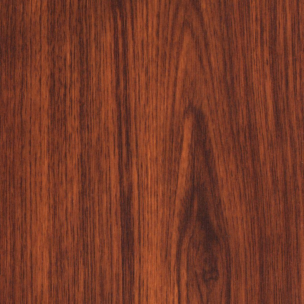 Trafficmaster Embossed Brazilian Cherry 7 Mm Thick X 11 16 In Wide