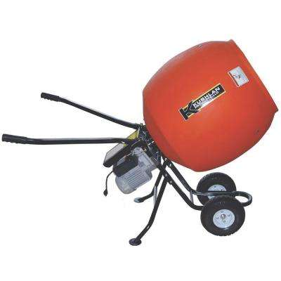 6.0 cu. ft. 3/4 HP 120-Volt Motor Direct Drive Low Profile Cement Mixer