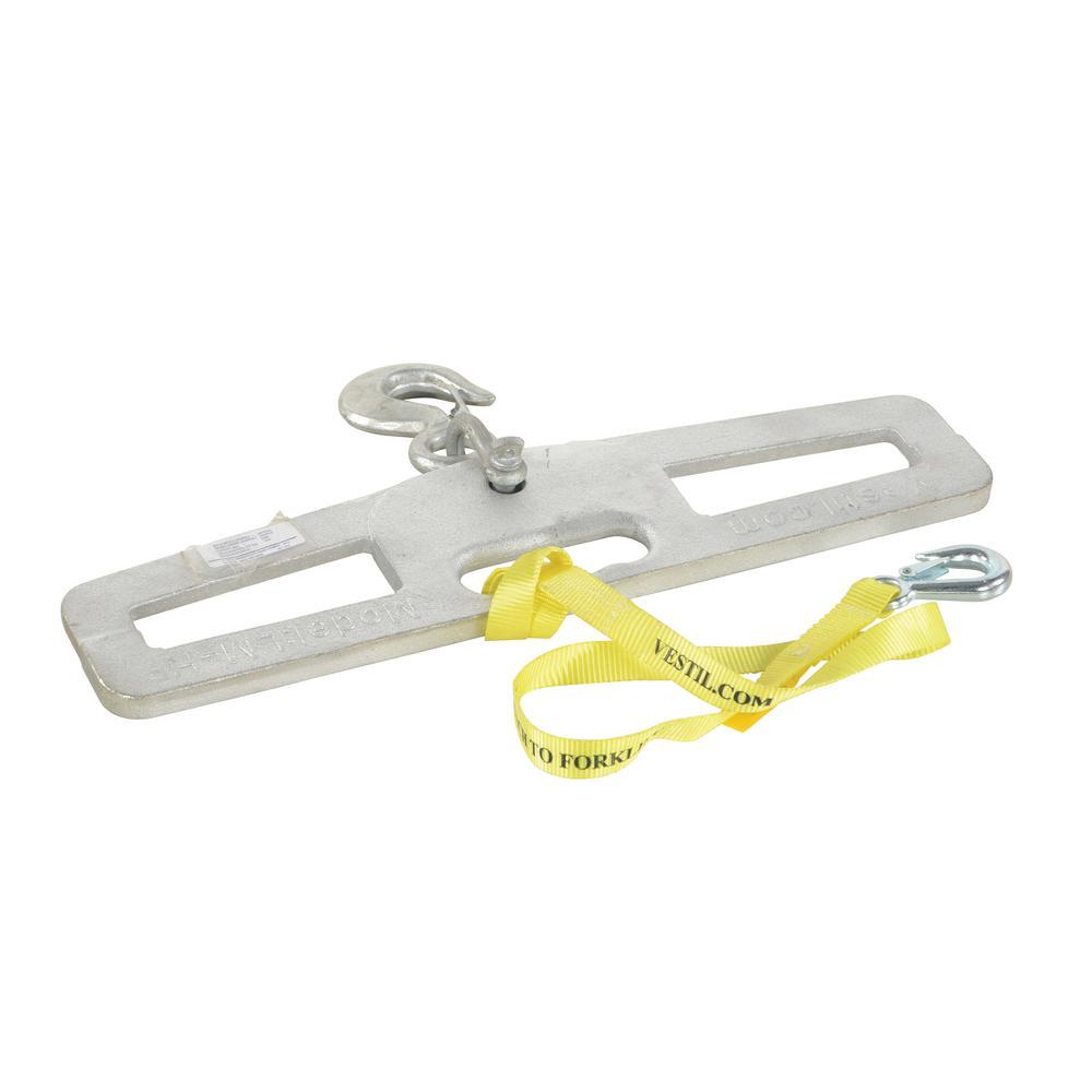 Vestil 4,000 Lb. Capacity Rigid Lift Master Hook Plate-LM