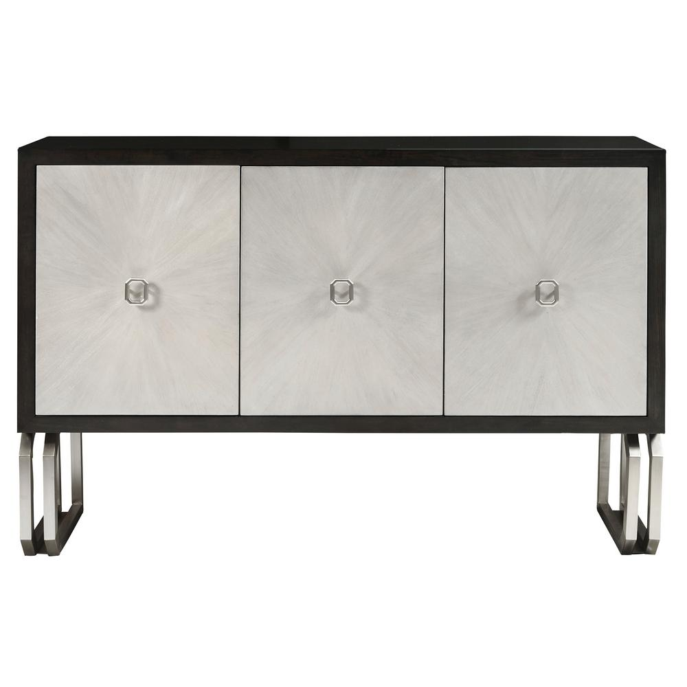Homefare Modern Multi Colored 3 Door Primavera Console Table