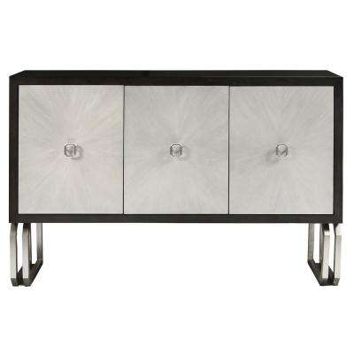 Modern Multi-Colored 3-Door Primavera Console Table