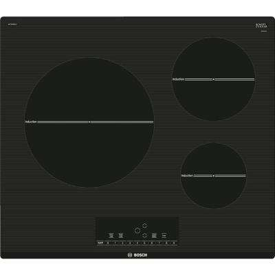 500 Series 24 in. Induction Cooktop in Black with 3 Elements