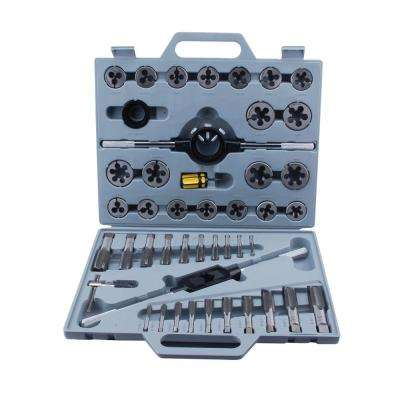 Tungsten Steel SAE Tap and Die Set (45-Piece)
