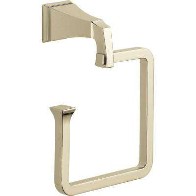 Dryden Open Towel Ring in Polished Nickel