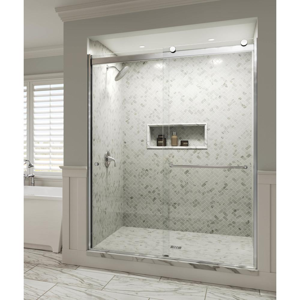 Semi Frameless Sliding Shower Door