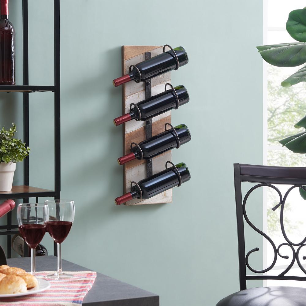 Rustic - Wood - Gray - Home Bars & Bar Sets - Kitchen ...