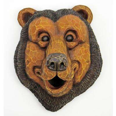 Bird House Black Bear Face