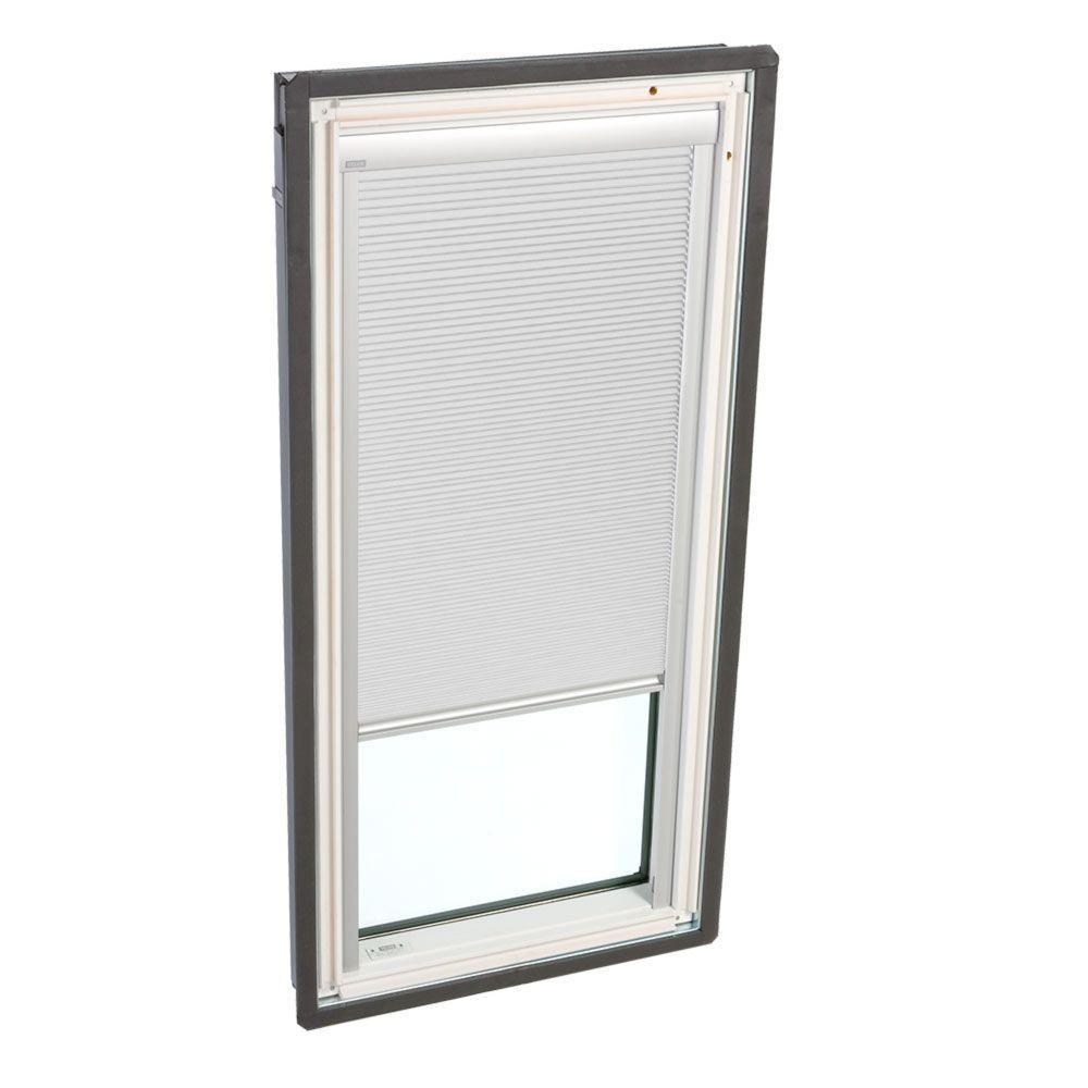 Manual Room Darkening White Skylight Blinds for FS C04 Models