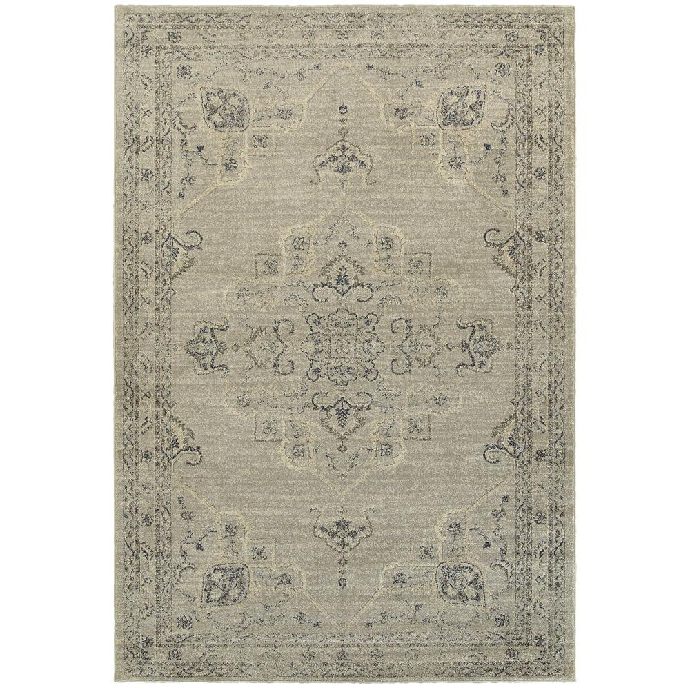 Antiquity Gray 7 ft. 10 in. x 10 ft. Area Rug