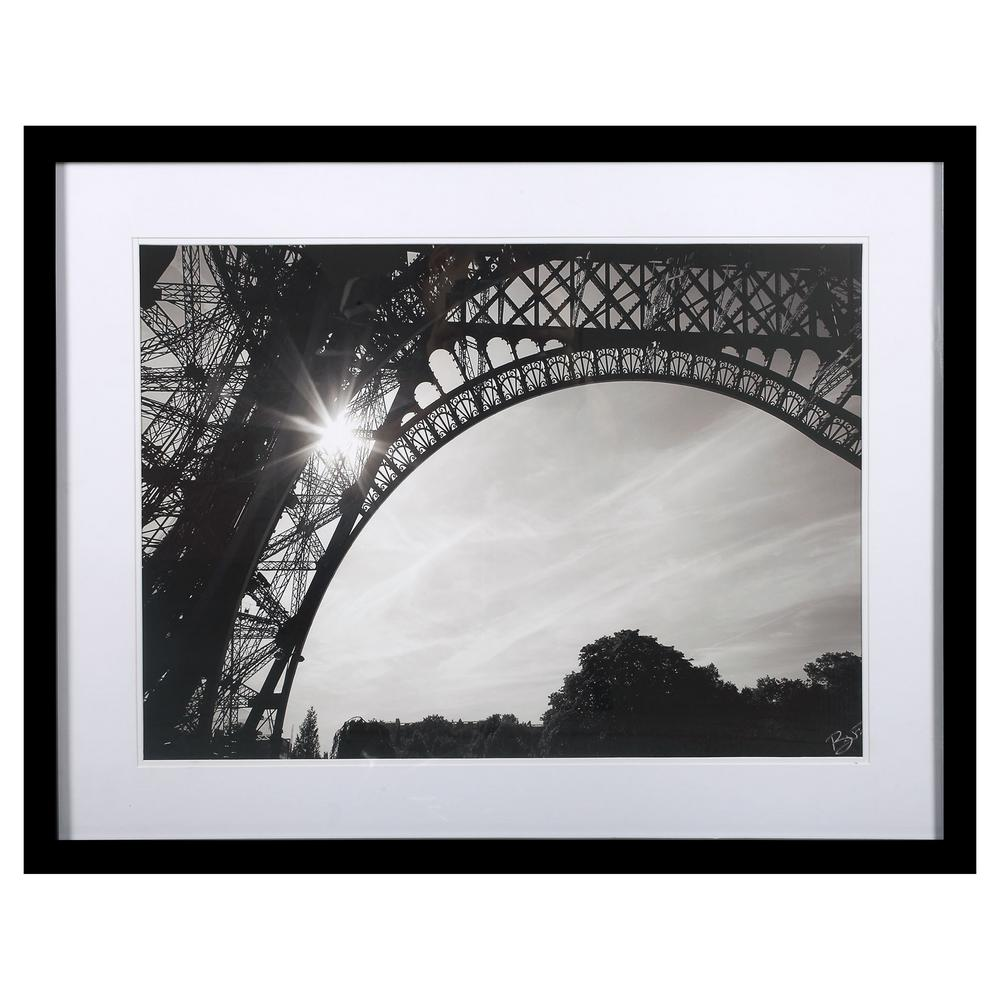 Morning in paris i by brian peregrina print framed wall art 3230012 the home depot