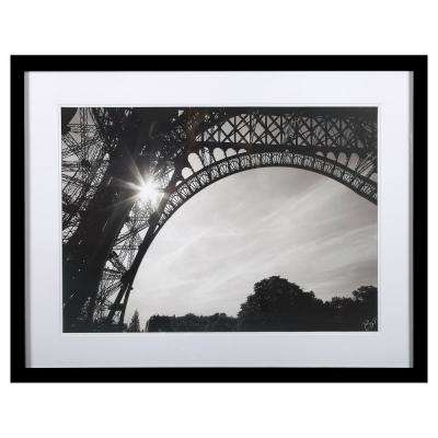 "24  in. x 35 in.  ""Morning In Paris I"" by ""Brian Peregrina"" Print Framed Wall Art"