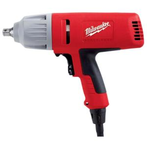 Milwaukee 1/2 inch Square Drive Impact Wrench with Detent Pin Socket Retention by Milwaukee