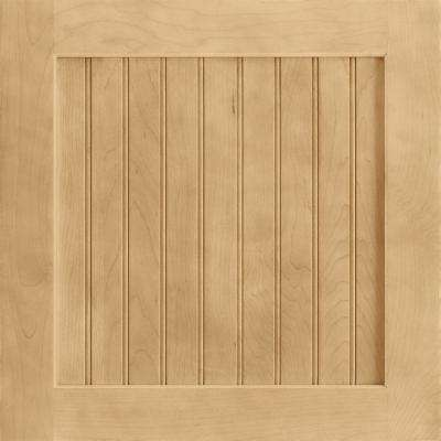 14-9/16 in. x 14-1/2 in. Cabinet Door Sample in Shorebrook Maple Rye