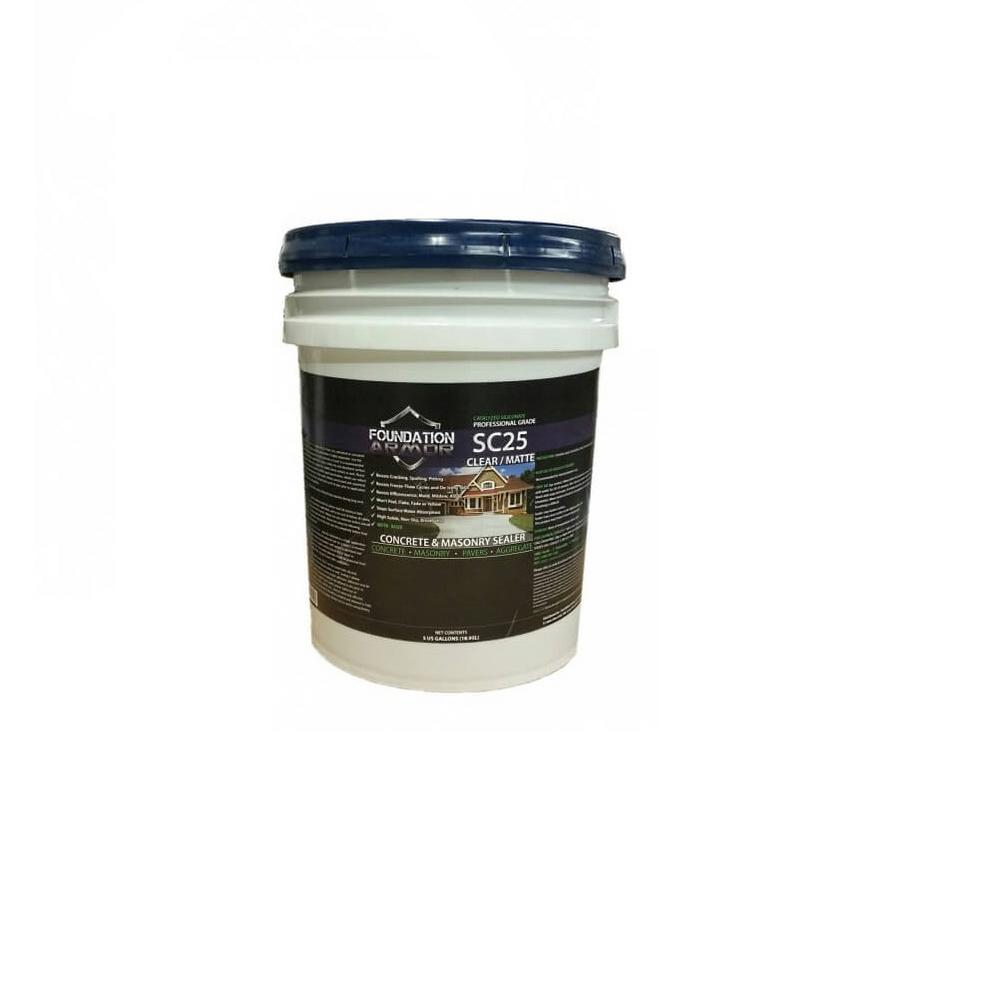 5 gal. SC25 Siliconate Water Repellent Sealer for Concrete and Masonry