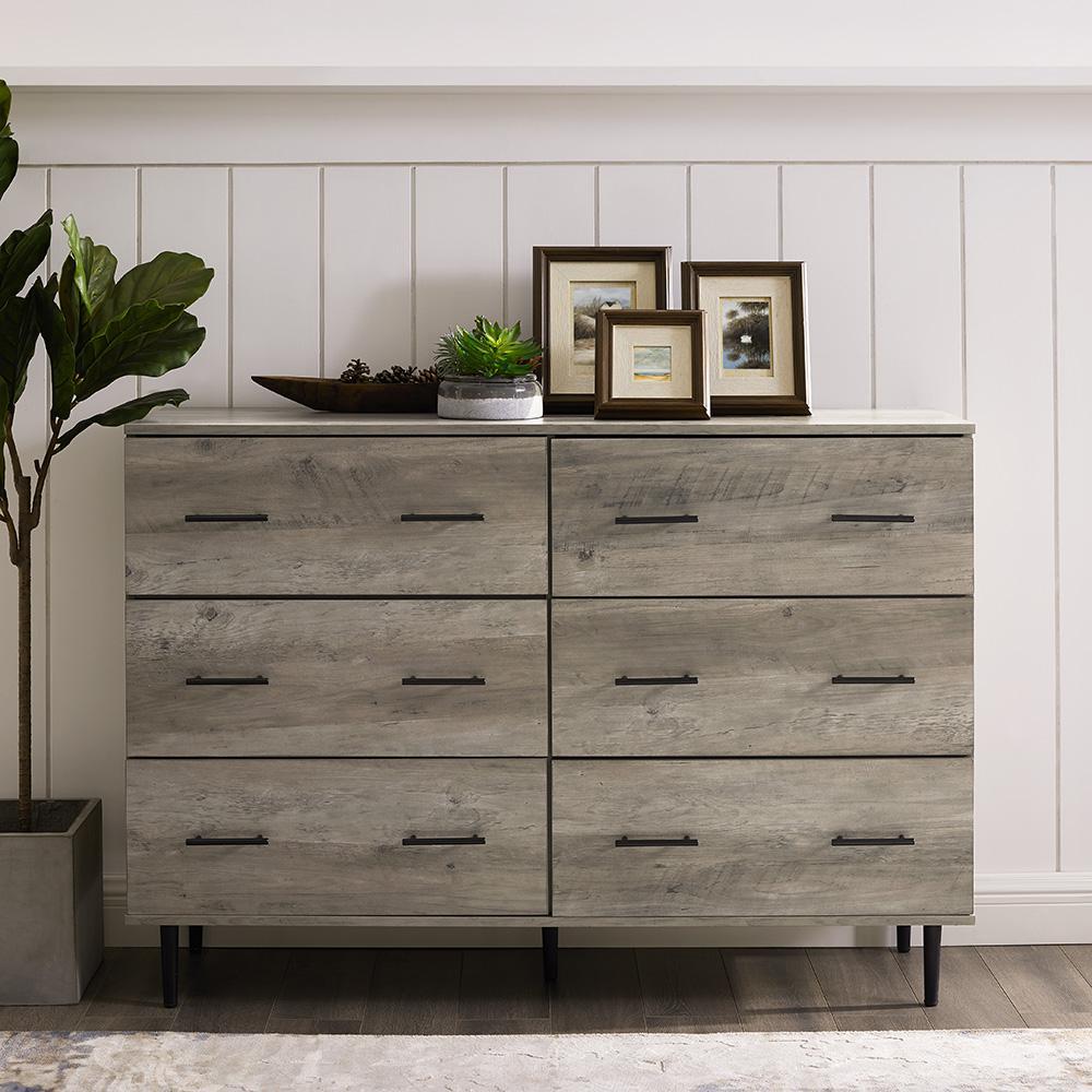 36 - 42 - Dresser - Gray - Dressers & Chests - Bedroom ...