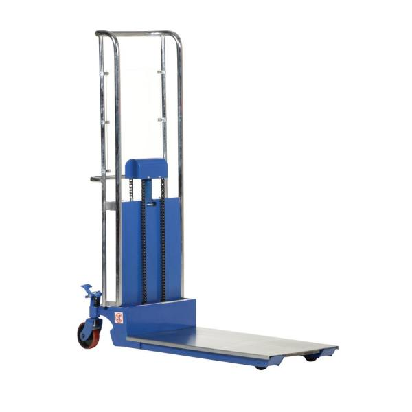 70 in. x 36 in. x 23 in. Foot Pump Steel Hefti-Lift with E in. x Tended Platform