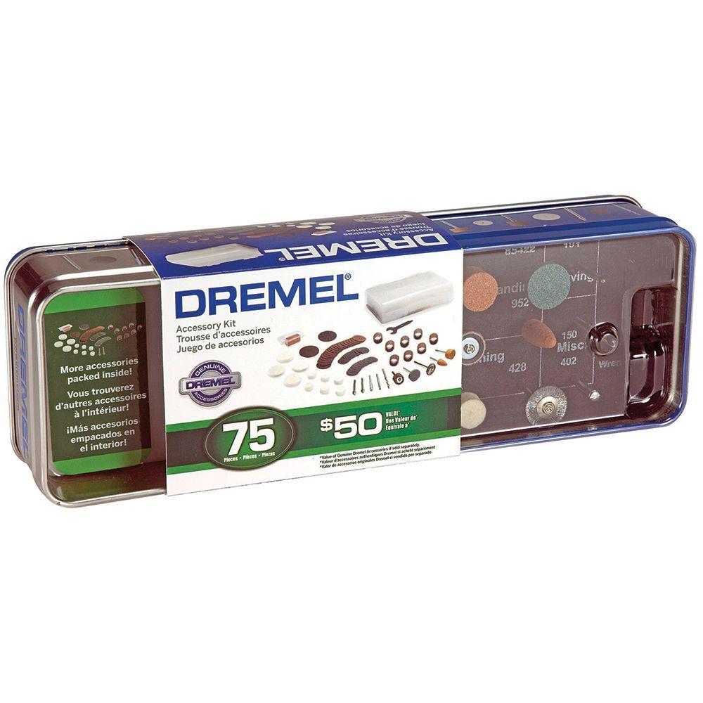 Dremel Rotary Tool Accessory Kit (75-Piece)
