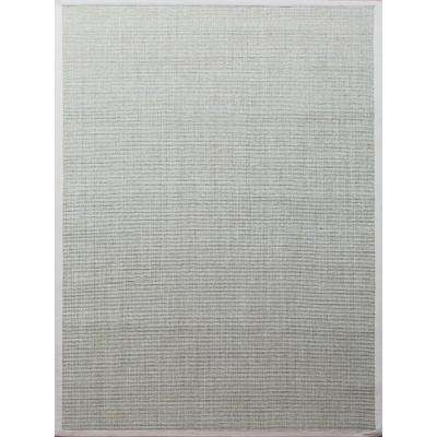 sisal boucle offwhite 4 ft x 6 ft indoor area rug
