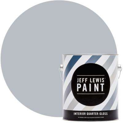 1 gal. #317 Frostbite Quarter-Gloss Interior Paint