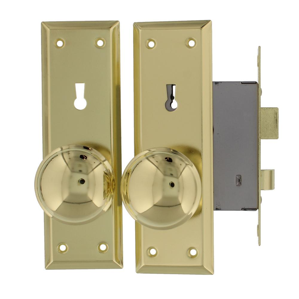 Ultra Security Brass Old Time Mortise Lock With Skeleton
