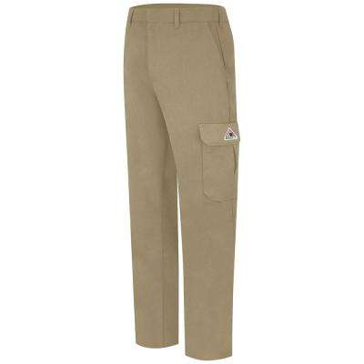 """""""CoolTouch 2 Men's 33 in. x 34 in. Khaki Cargo Pocket Pant"""""""