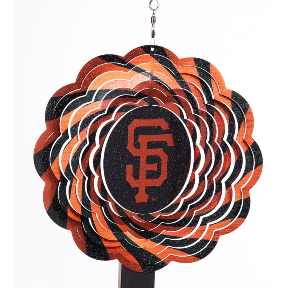 MLB 10 in. San Francisco Giants Geo Spinner
