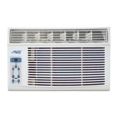 8,000 BTU 110-Volt Through-the-Wall Air Conditioner with Heat and Remote