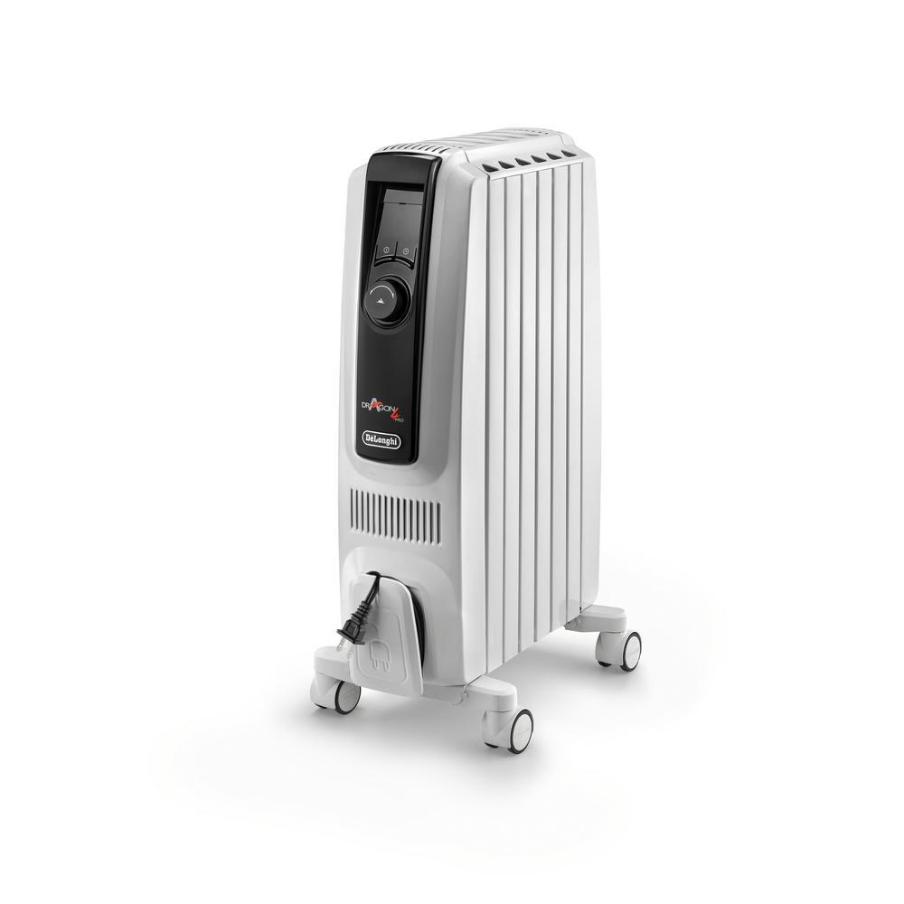 1500-Watt 5120 BTU Oil Filled Radiator Space Heater Quiet Full Room Comfort