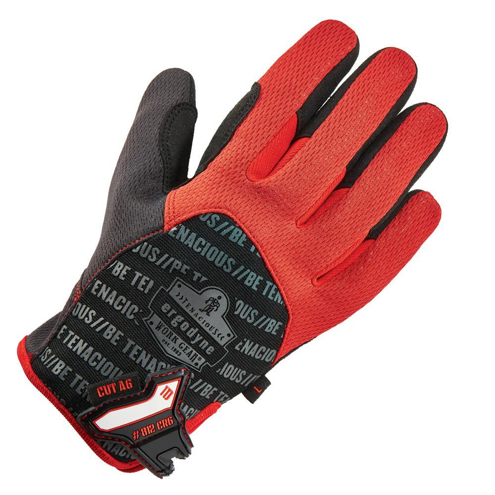 ProFlex Large Black Utility + Cut Resistance Work Gloves
