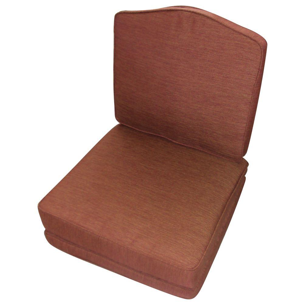 null Palamos Replacement Outdoor Chat Chair Cushion-DISCONTINUED